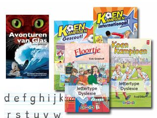 Kinderboeken in dyslexie-lettertype   Thuis in onderwijs