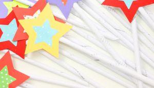 Varitas mágicas para niños magic wand craft