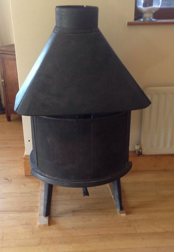 Seventies Classic  An amazing stove with great wood load capacity.