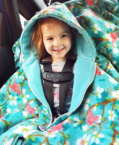About Car Seat Ponchos - Car Seat Ponchos Canada - Ally's Fuzzies