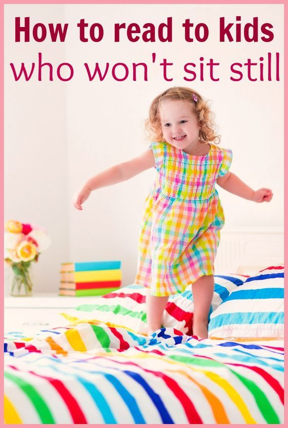 Here's how to read to active kids who won't sit still. Tips for the mom who wants to get in reading, but doesn't have lap sitters!