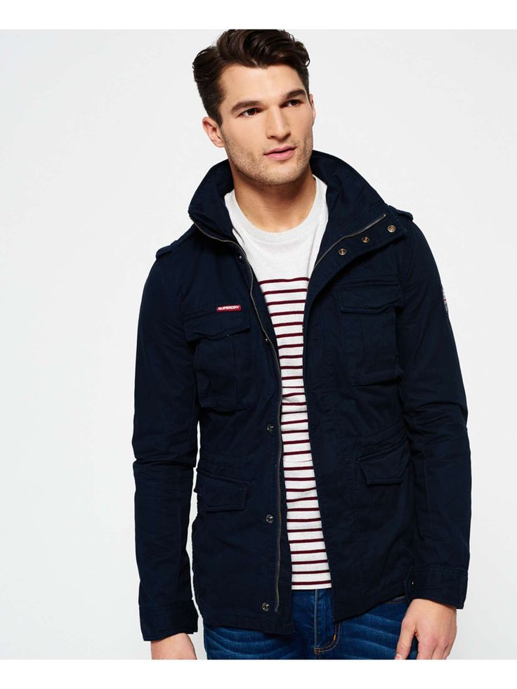 Superdry Rookie Military Jacket - House of Fraser