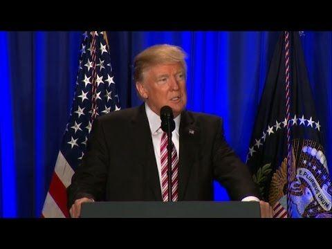 Trump é recebido com protestos na Filadélfia