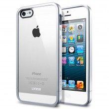 Forro iPhone 5 Spigen SGP Linear Metal Crystal Series - Satin Silver $ 64.000,00