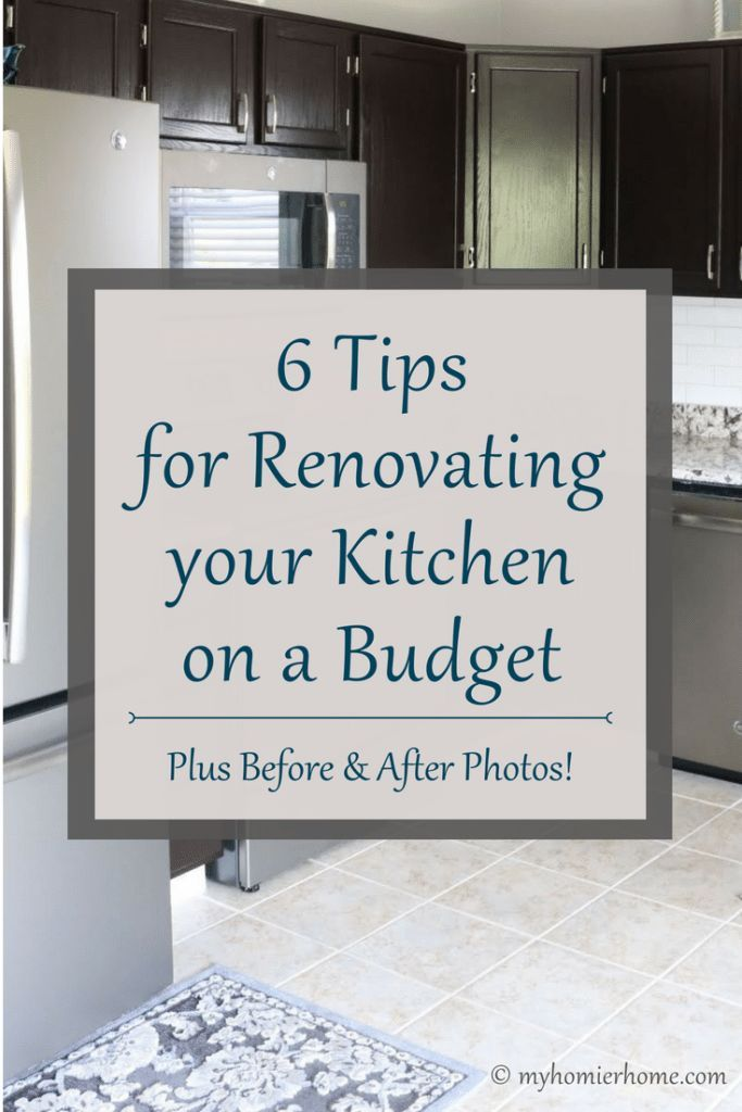 6 Tips For Renovating Your Kitchen On A Budget Before Afters With