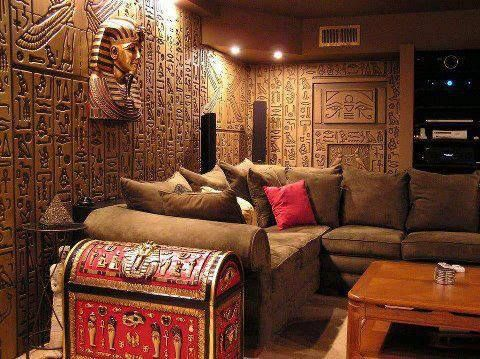 Top tips for Egyptian style living room interior design
