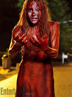 Carrie remake with Chloe Moretz and Julianne Moore, looking forward to this.