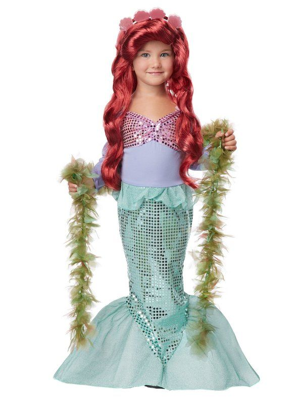 Check out Lil` Mermaid Toddler Costume - Disney Princess Costumes for Babies from Wholesale Halloween Costumes