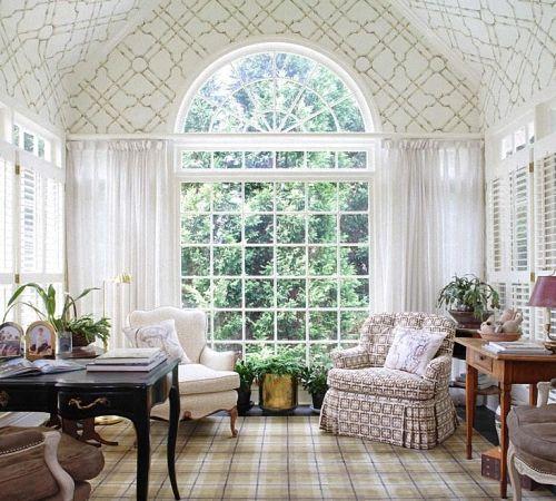 Арочные окна: фото, идеи оформления | Строительный портал