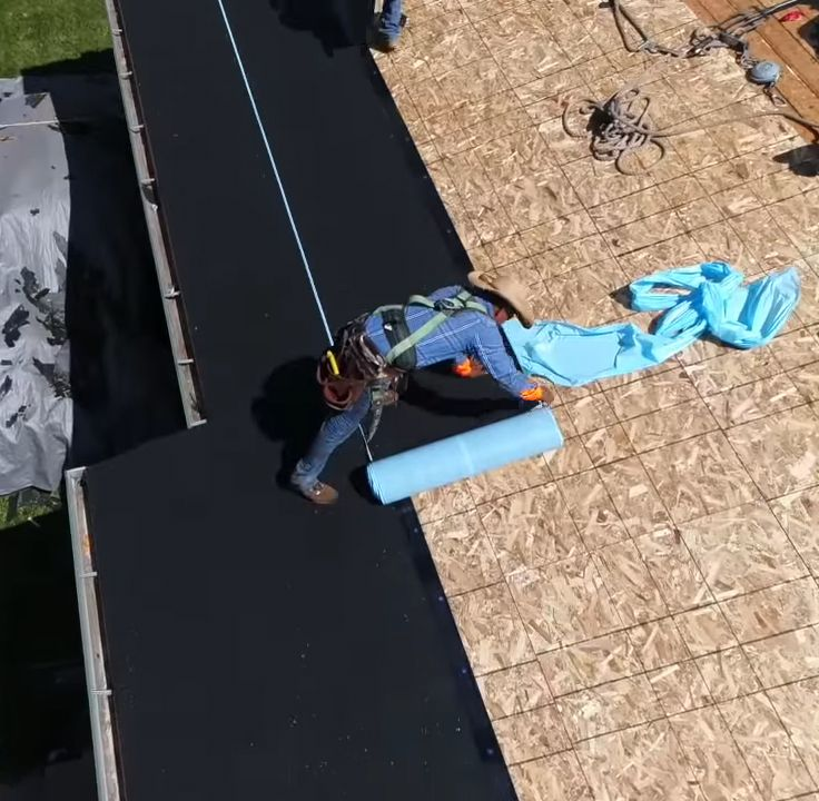 Best Underlay Cool Roof Roll Roofing Synthetic Roofing