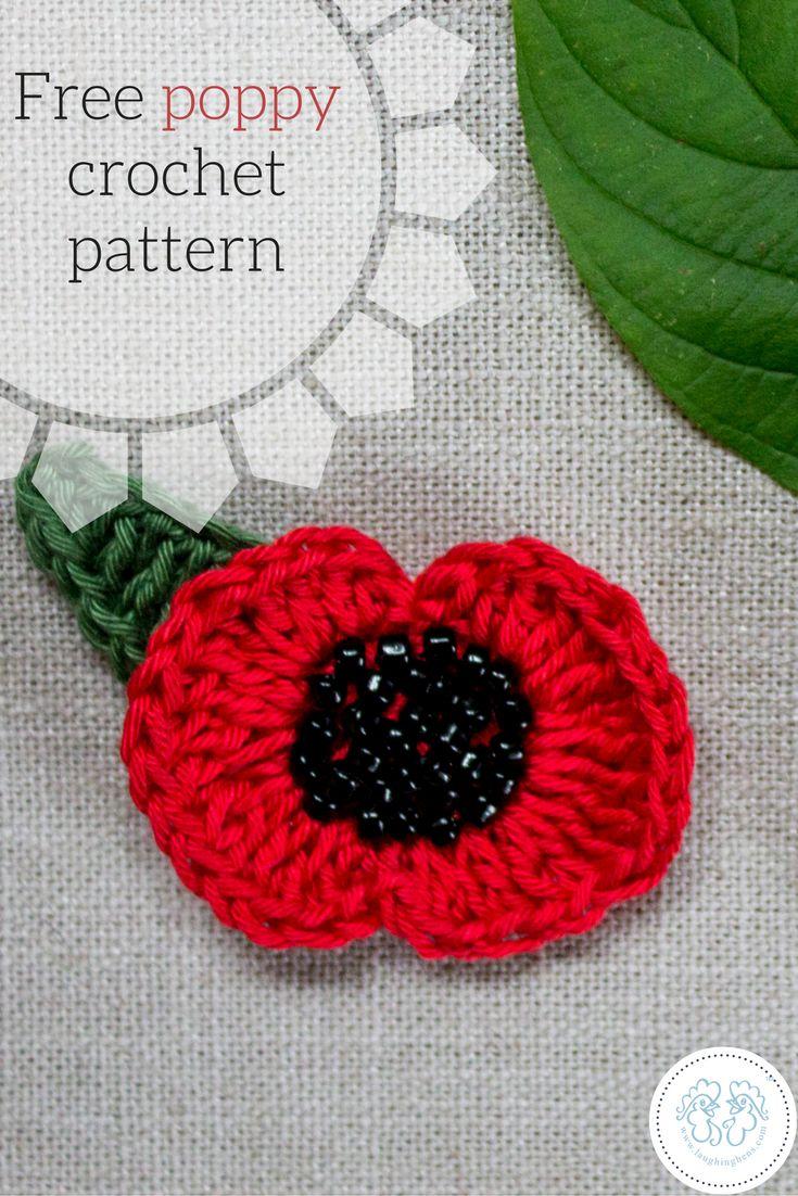 11 best free charity knitting patterns images on pinterest free poppy crochet pattern by anna nikipirowicz bankloansurffo Choice Image