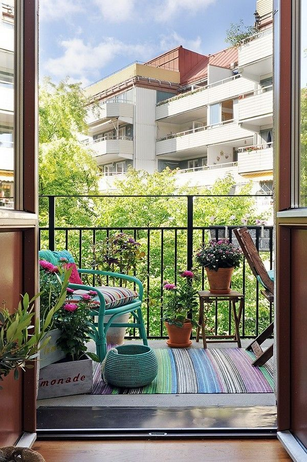 Oltre 25 fantastiche idee su piccolo balcone su pinterest for Arredare piccolo balcone