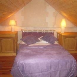 #Chambre du Gîte des EMOTELLES à léry dans l'Eure  près de Val de Reuil