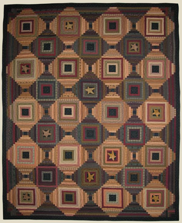 love this quilt - courthouse steps block