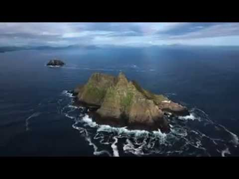This footage shows the damage to the pathway on the way to the Monastery at the Skelligs. The damage is just before the canopy in an area which is prone to rockfall, but this rockfall is unprecedented in the damage it has caused. http://www.skelligsrock.com/