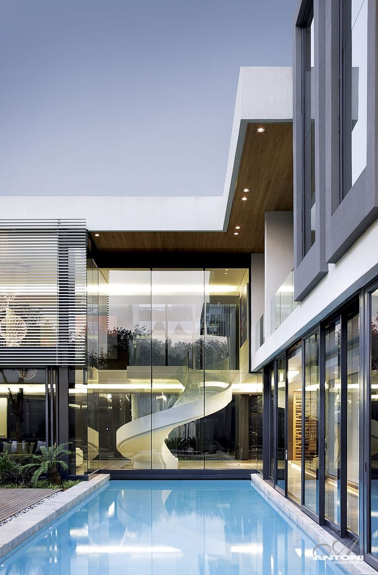 Architecture beast modern mansion with perfect interiors by saota