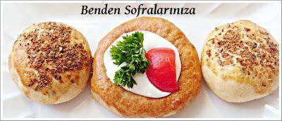 Krem Peynirli Poğaça-Baharatlı Poğaça