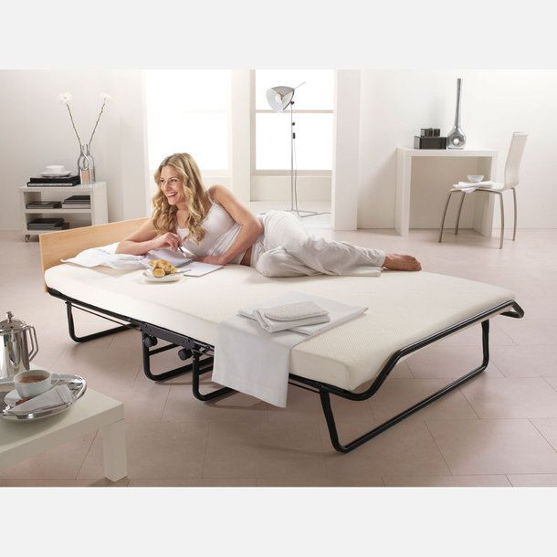Medway Folding Bed And Mattress - fab idea for small spaces