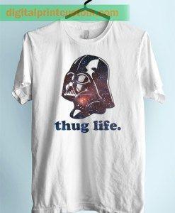 Darth Vader Thug Life Unisex Adult Tshirt