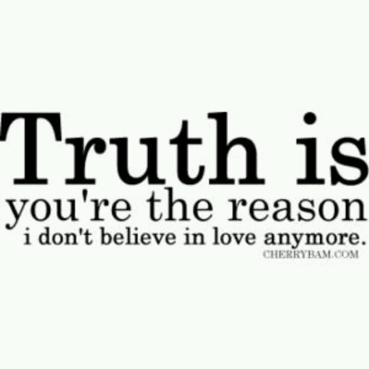 you the FINAL reason.