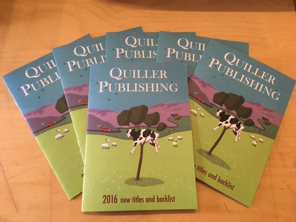 Our 2016 Quiller and Kenilworth Catalogue has just arrived in time for the London Book Fair #lbf16