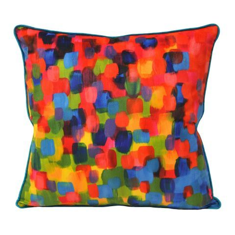 Paoletti Art Attack Multicoloured Square Cushion Cover – Next Day Delivery Paoletti Art Attack Multicoloured Square Cushion Cover from WorldStores: Everything For The Home
