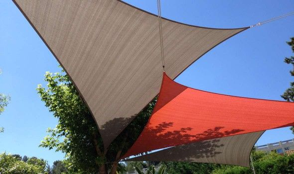 17 best ideas about voiles d ombrage on pinterest voiles - Toile triangle terrasse ...