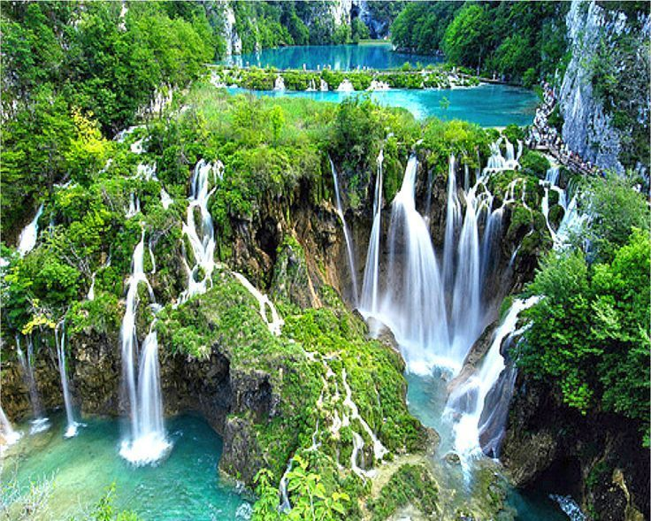 Plitvice Lakes National Park - Beautiful Places In The World That Actually Exist (10 Photos) - Check us out by clicking on the picture in order to find out more beautiful pictures.