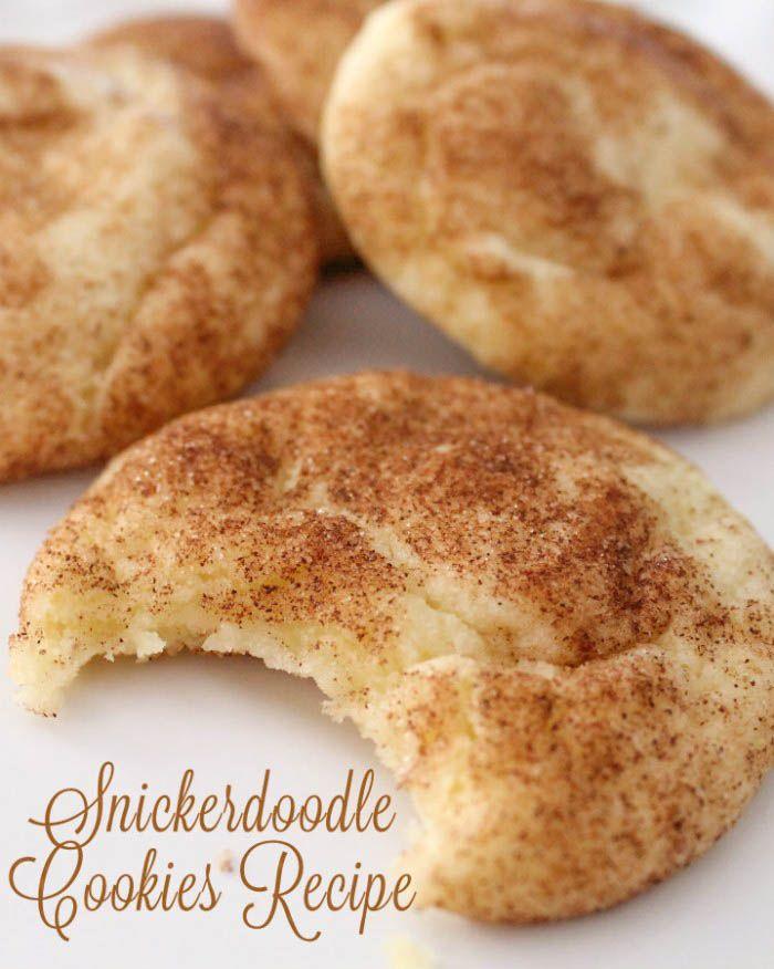 The Best Snickerdoodles Recipe