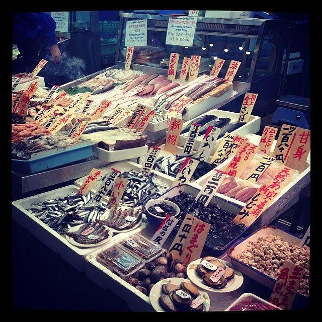 錦市場 (京都錦小路商店街 / Nishiki Food Market) in 京都市中京区, 京都府