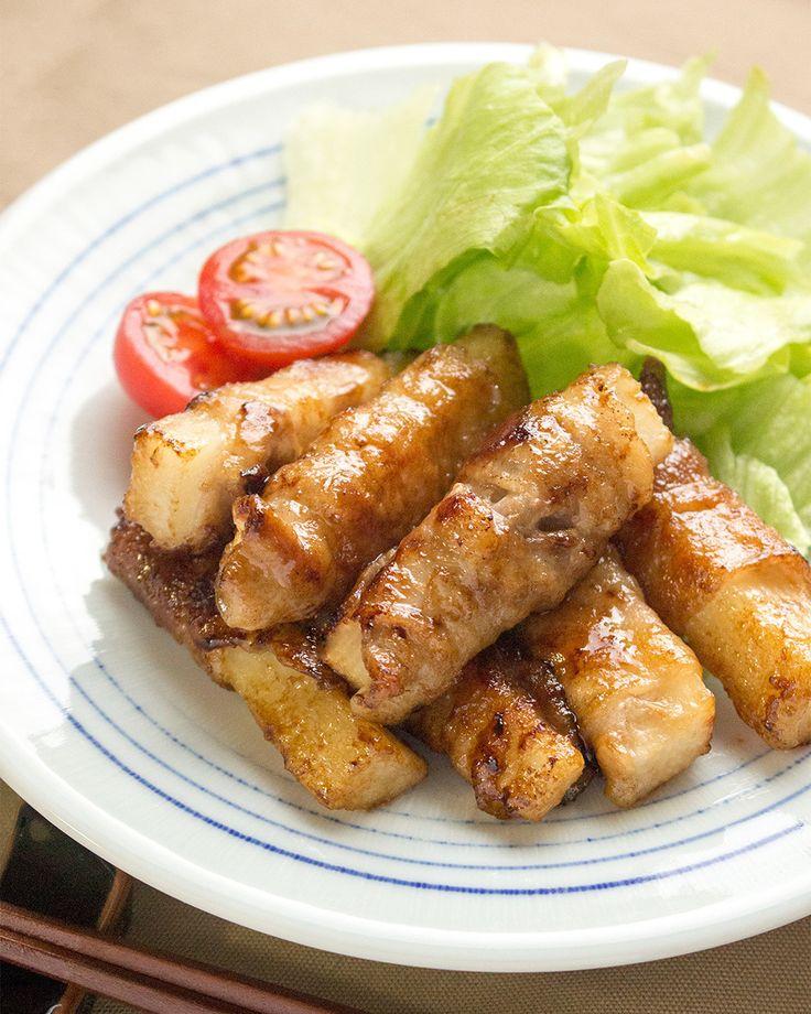 我が家で人気 長芋の豚肉巻き by saeco / 甘辛いタレと長芋のシャキシャキ感が美味しい一品。お弁当のおかずにもおすすめです。 / Nadia