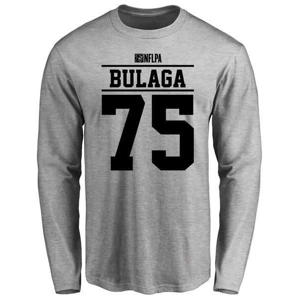 Bryan Bulaga Player Issued Long Sleeve T-Shirt - Ash - $25.95