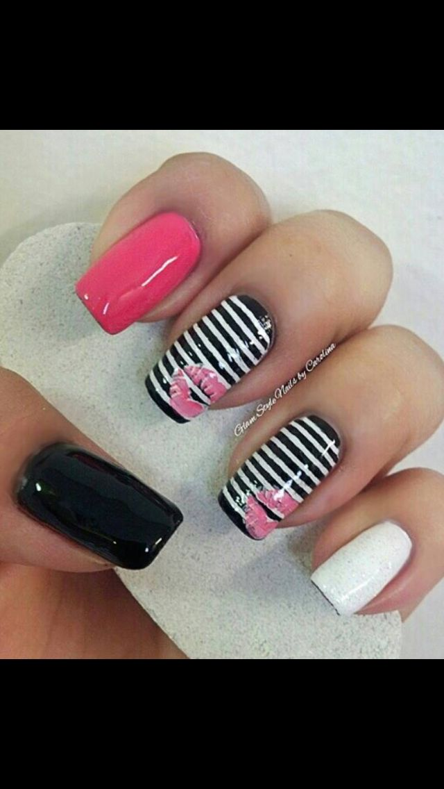 The 117 best Nail art images on Pinterest | Fingernail designs, Nail ...