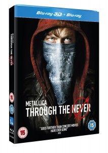 Metallica Through The Never 3D Blu Ray £8.33 At Amazon UK Gratisfaction UK Flash Bargains