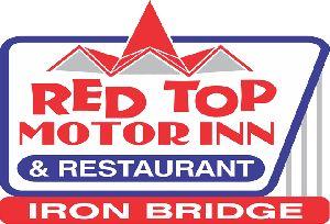 Red Top Motor Inn & Restaurant in Iron Bridge #algomacountry
