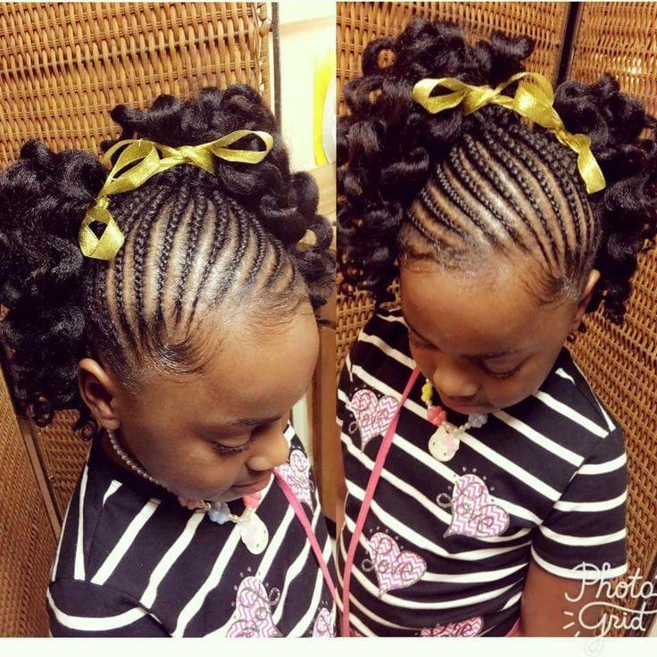 Children's Natural Hairstyles 2805 Best Children Natural Hair Images On Pinterest  Braids