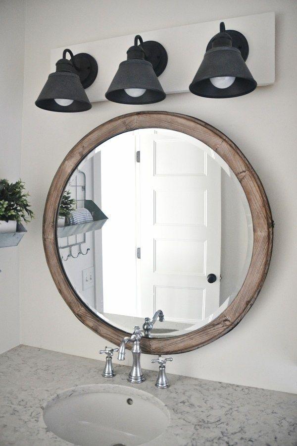 DIY Farmhouse Bathroom Vanity Light Fixture – Decor