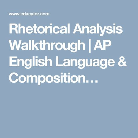 63 best AP11 images on Pinterest Ap english, Teaching english - rhetorical precis template