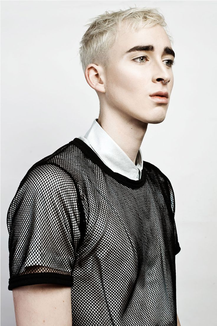 Sean Brady at Vivien's Model Management, photographed by Andrea Jankovic in exclusive for Fucking Young! Online.