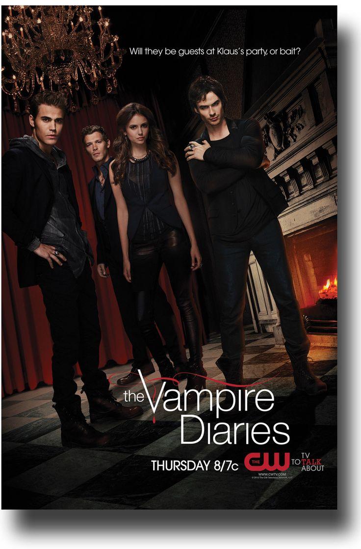 Vampire Diaries Poster $9.84 #VampireDiaries #IanSomerhalder