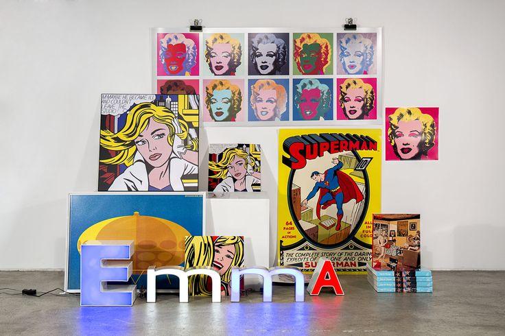 Pop Art Design now at EMMA Shop.