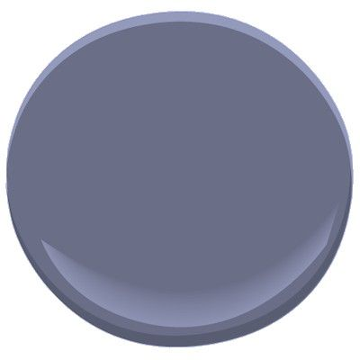 French violet - BM 1427, goes with Moonshine (light grey) BM 2140-60 and Celery (very pale green) BM 2150-60