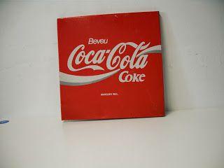 decoración vintage, antiguitats-baraturantic: chapa de coca-cola vintage