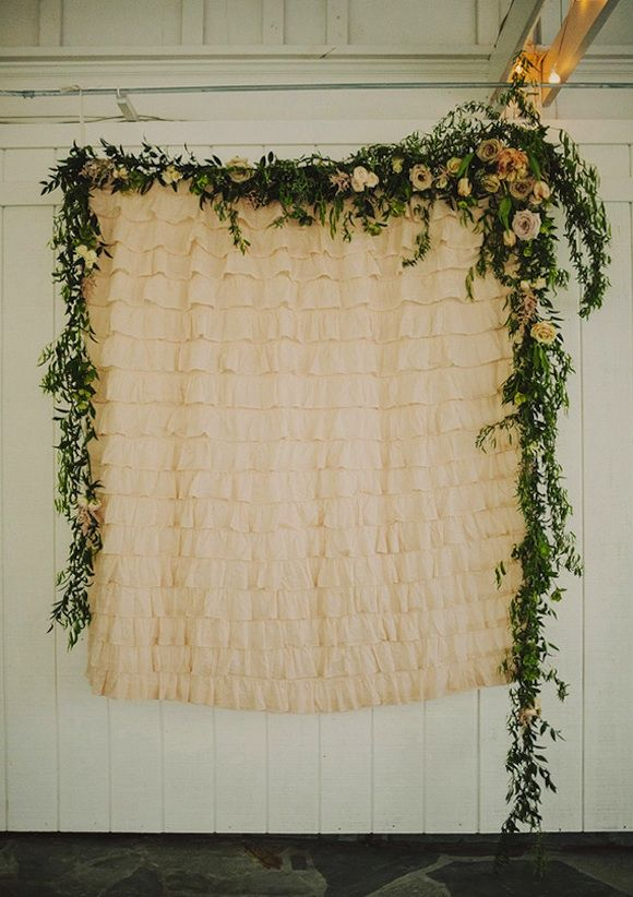vintage wedding photobooth backdrop