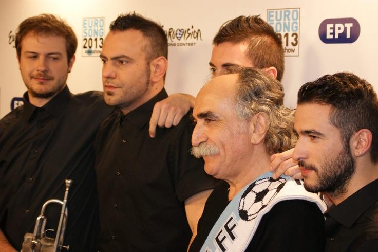 Koza Mostra & Agathonas Iakovidis: #Eurovision Greece