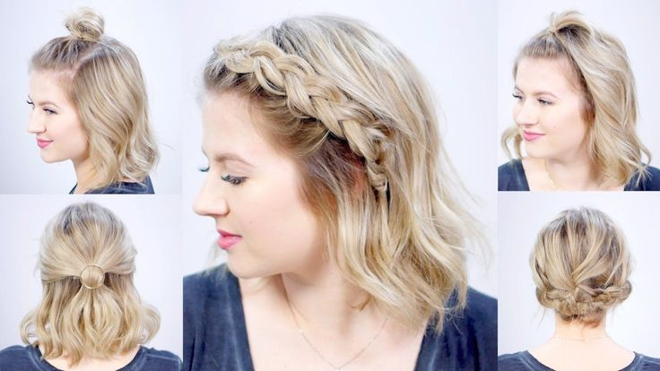 fun styles short hair