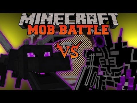 Ender Dragon Vs Robo Warrior Minecraft Mob Battles Orespawn And Vs Mobs Mods Minecraft Mobs Battle Mob