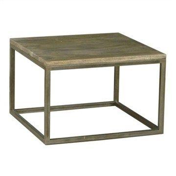 Byrne Solid Mango Wood Timber 64x64x50H $240