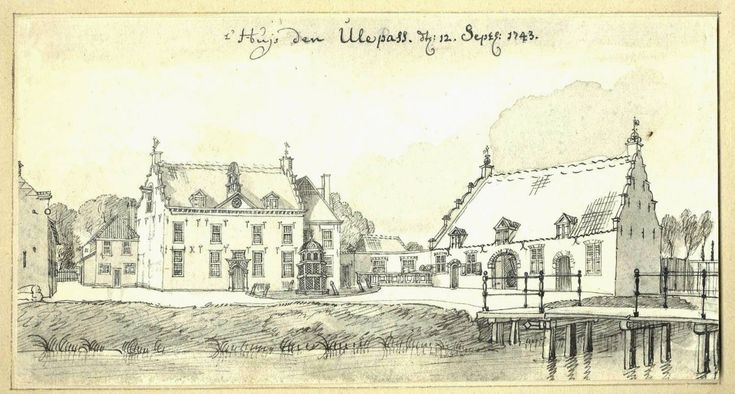 Tekening Jan de Beijer, 1743