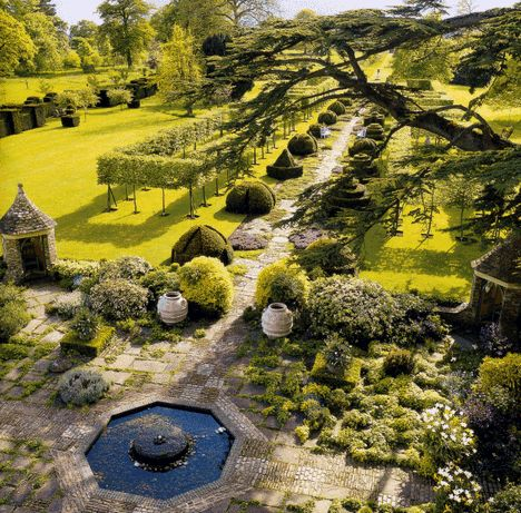 Highgrove House--Prince Charles' country house and organic garden.